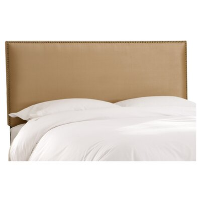 Marion Polyester Upholstered Headboard Size: King