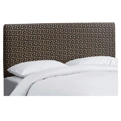 Elba Cotton Upholstered Headboard Size: Full