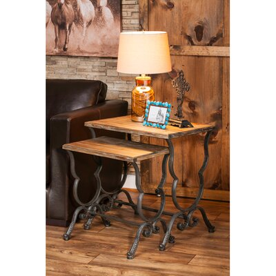 2 Piece Joad Nesting End Table
