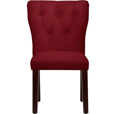 Veronica Tufted Velvet Side Chair