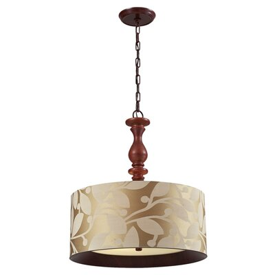 Beaumont 3-Light Drum Pendant