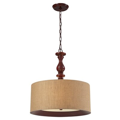 Beaupre 3-Light Drum Pendant