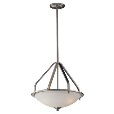Westphal 3-Light Bowl Pendant Bulb Type: Incandescent