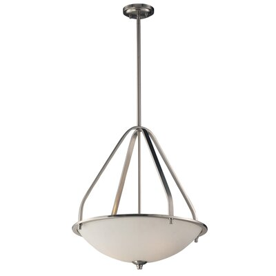 Westra 3-Light Bowl Pendant Bulb Type: Incandescent