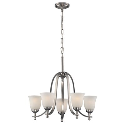 Tolland 5-Light Shaded Chandelier
