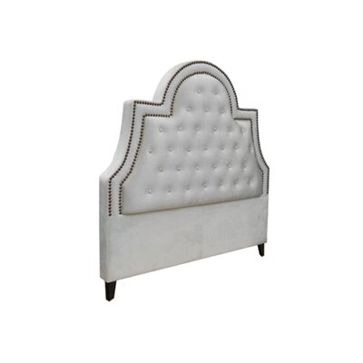 Amanda Upholstered Headboard Size: California King
