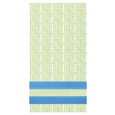 Blue Garden Fingertip Towel (Set of 2)