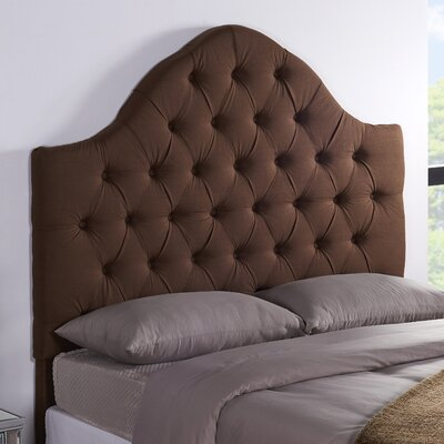 Floyd Upholstered Panel Headboard Size: Full / Queen, Upholstery: Cocoa