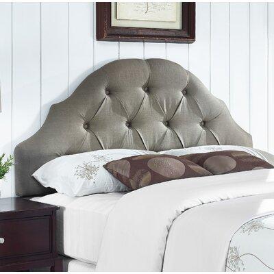 Joyce Upholstered Panel Headboard Size: King/California King, Upholstery: Warm Grey