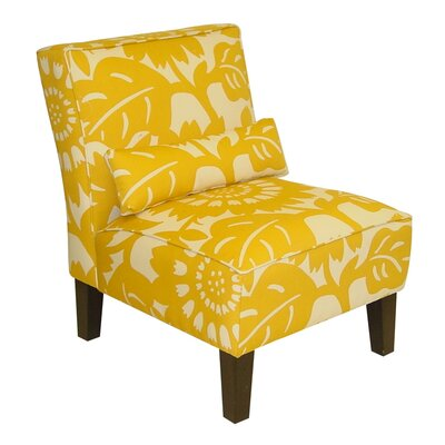 Thurston Slipper Chair Upholstery: Gerber Sungold