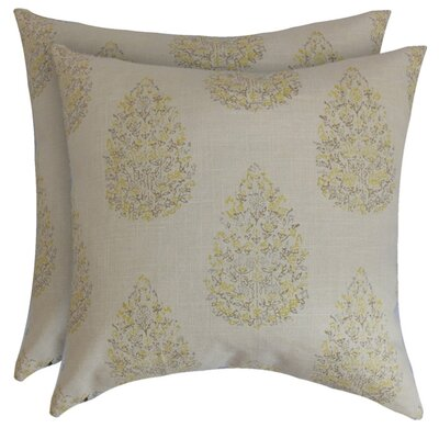 Sal� Cotton Throw Pillow
