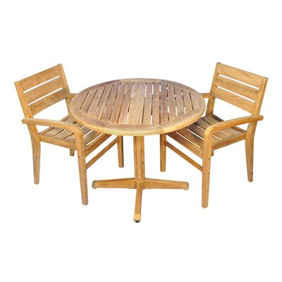 Savannah 3 Piece Indoor/Outdoor Dining Set