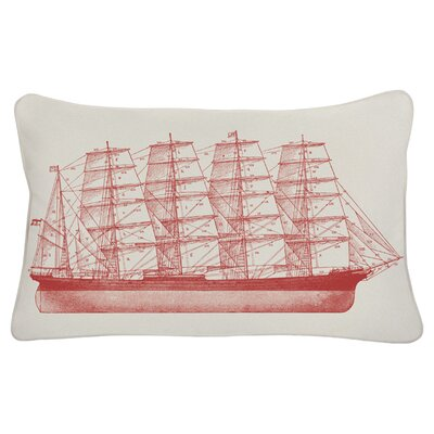 Tall Ship Lumbar Pillow