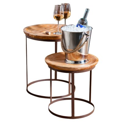 2 Piece Alayna Nesting End Table