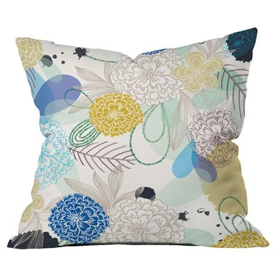 Khristian a Howell Whisper Outdoor Throw Pillow Size: 18 H x 18 W x 6 D
