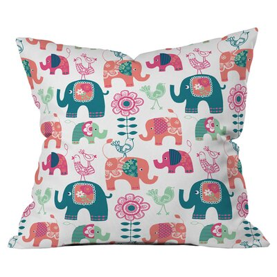 Wendy Kendall Helly Friends Outdoor Throw Pillow