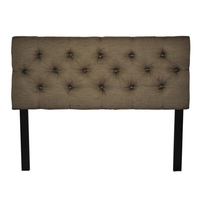 Jackie Upholstered Headboard Size: Queen
