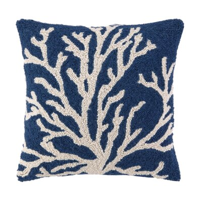 Reef Wool Throw Pillow