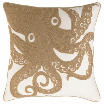 Up Close Octopus Pillow