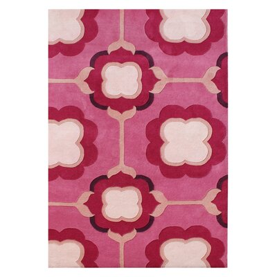 Alice Hand-Woven Pink/Red Area Rug