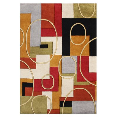 Alliyah Hand-Woven Multi-color Area Rug Rug Size: 5 x 8