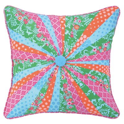 Dial Linen Throw Pillow