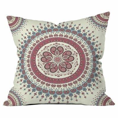 Belle13 Paisley Mandala Love Outdoor Throw Pillow