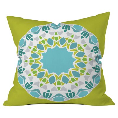 Karen Harris Mod Medallion Outdoor Throw Pillow