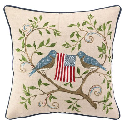 American Birds Pillow