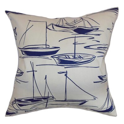 Harbor Cotton Throw Pillow Size: 18 x 18