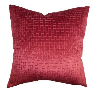 Rory Velvet Throw Pillow Size: 18 x 18