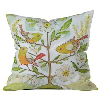Cori Dantini Community Tree Euro Sham Outdoor Throw Pillow