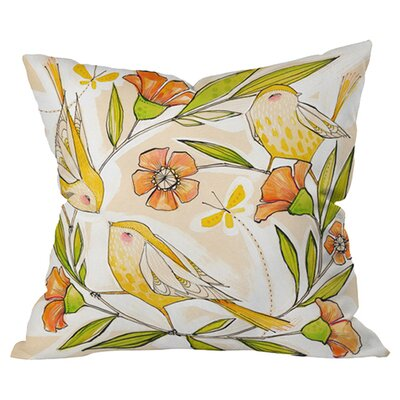 Cori Dantini Happy Family Outdoor Throw Pillow Size: 18 H x 18 W x 5 D
