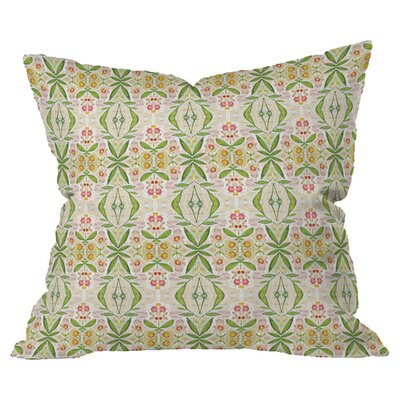 Cori Dantini Leafy Diamond Outdoor Throw Pillow