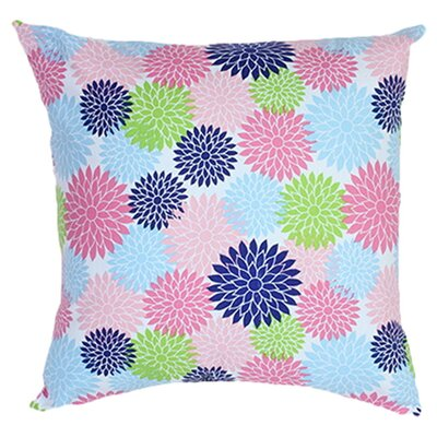 Blooms Pillow Size: 18 x 18