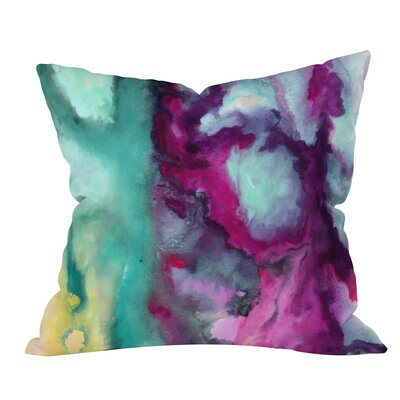 Jacqueline Maldonado Armor Outdoor Throw Pillow Size: 18 H x 18 W