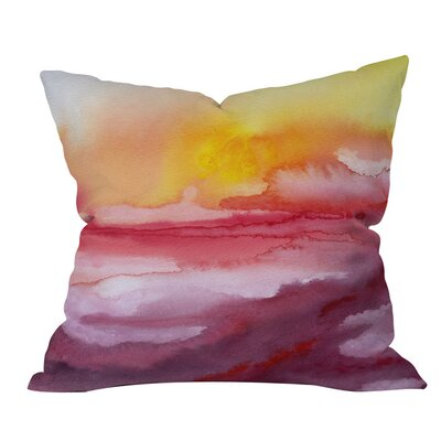 Jacqueline Maldonado Rise 1 Outdoor Throw Pillow Size: 18 H x 18 W