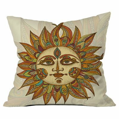 Helios Throw Pillow Size: 18 H x 18 W