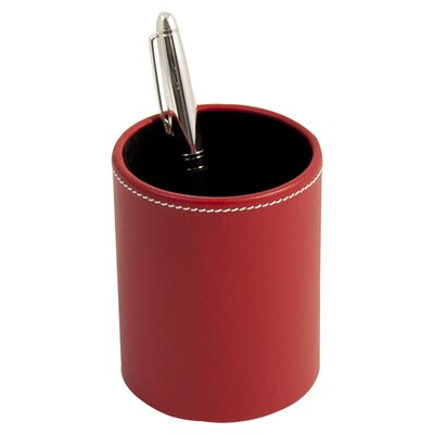 Huntting Leather Pen Cup D1621