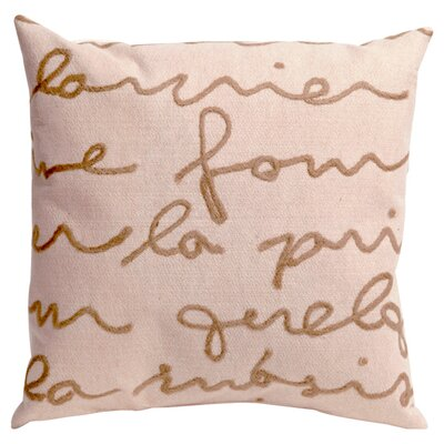 Poem Throw Pillow