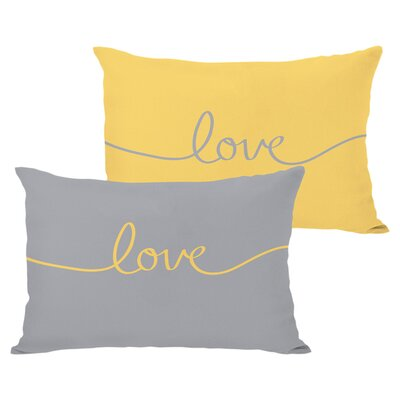 Love Reversible Lumbar Pillow