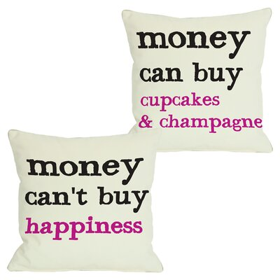 Money Throw Pillow