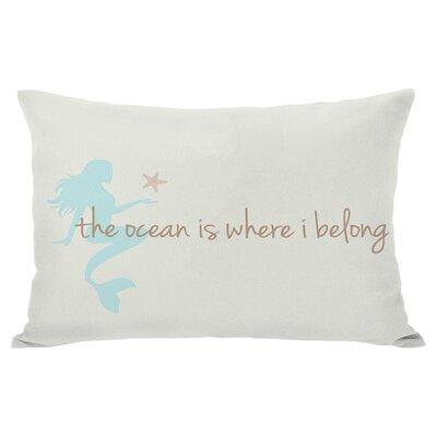 Where I Belong Lumbar Pillow