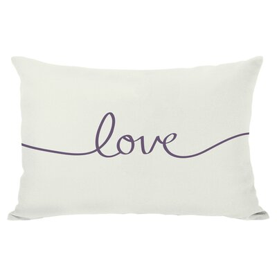 Love I Lumbar Pillow