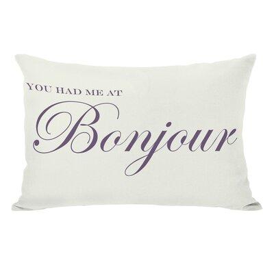 Bonjour Lumbar Pillow