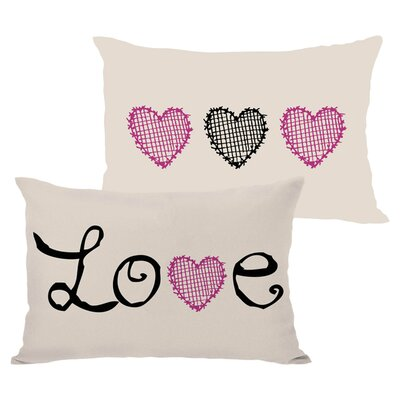 Love II Lumbar Pillow
