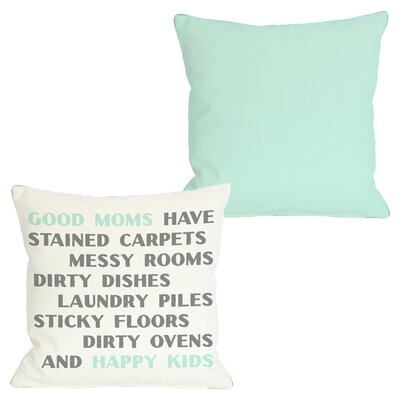 Good Moms Throw Pillow