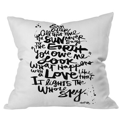 Kal Barteski Even After All 1 Outdoor Throw Pillow Size: 16 H x 16 W x 5 D