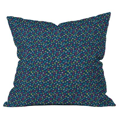Tammie Bennett Flowersdance Outdoor Throw Pillow