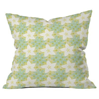 Caroline Okun Blue Susan Outdoor Throw Pillow